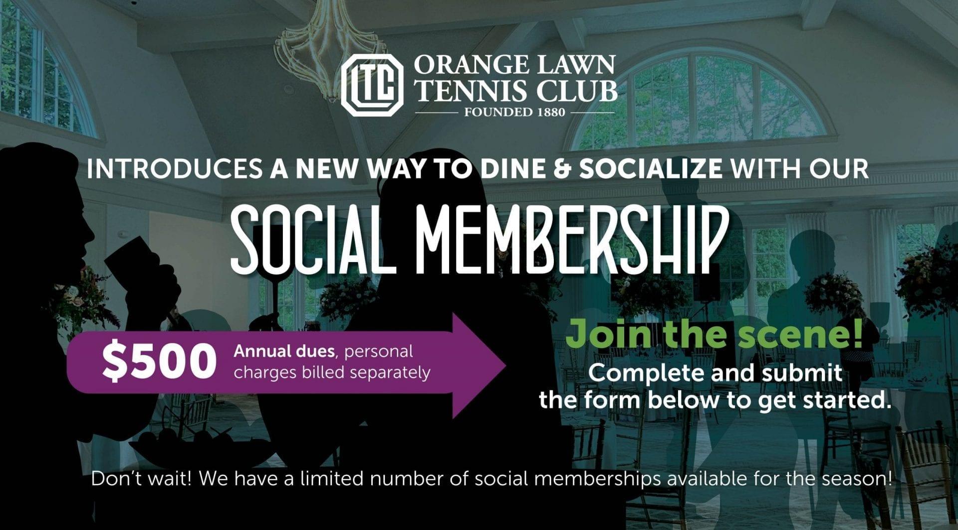 Social Membership Banner